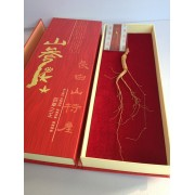 红色山参礼盒