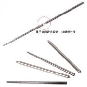 创意中国风餐具 不锈钢餐具套装 便携式餐具三件套 叉子勺子筷子