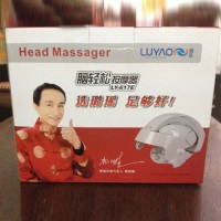 多功能电动头部按摩器 脑部按摩器 脑轻松治头痛改善睡眠按摩仪