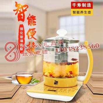 多功能煮花茶玻璃养生壶(加滤网)